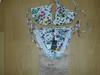 gucci white flower bikini