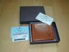 PRADA brown leather wallet