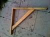 wooden garler bracket x6