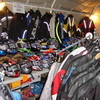 JOB LOT OF MOTORCYCLE CLOTHING