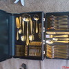 24 carrot gold cutlery set