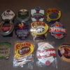 Real ale pump clips/badges