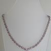 FANTASTIC PINK SAPPHIRE AND DIAMOND NECKLACE !