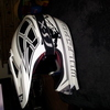 White fox racing moto x helmet
