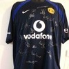Manchester united Signed football shirt - ronaldo, rooney etc