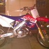 MT POWERFUL HONDA CR 125 MOTOCROSS