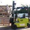 Clark EM15-SN Electric Forklift Truck Triple Mast Fork Lift
