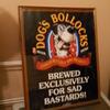 wychwood brewery framed poster