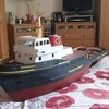 Model tug boat brackengarh huge RC model..