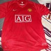 signed manchester united shirt in mint condition