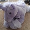 Plush Unicorn Purple