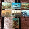vintage collectable holographic postcards for sale