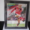 ALF-INGE HAALAND (Notts Forest/Wales) Signed 12'' x 10'' Mounted Picture