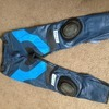 Ladies leather bike trousers size 14