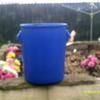 30 ltre blue buckets with lids