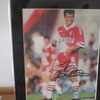 John Collins (Celtic/Scotland/Monaco) Signed 12'' x 10'' Mounted Picture