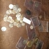 collection of roman coins