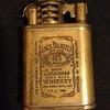 Rare (Old Monogram) Antique Vintage Collectable JD Jack Daniels Brass Lighter