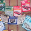 various 80s/90s Haynes workshop manuals