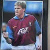Steve Staunton (Aston Villa) Signed 12'' x 10'' Mounted Picture
