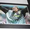 Mark Bosnich (Aston Villa) Signed 12'' x 10'' Mounted Magazine  Picture