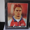 Frank de Boer ( Holland) Signed 12'' x 10'' Mounted Magazine  Picture