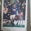 Emile Heskey/Steve Claridge (Leicester City) Signed A4 Picture
