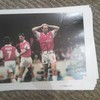 Steve Bould (Arsenal) Signed A4 Picture
