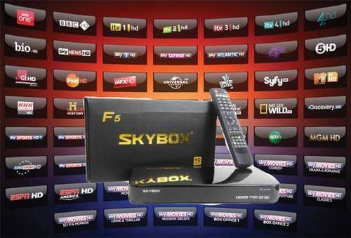 Skybox F5/F3 Updated Channel List with easy to follow instructions