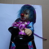 collectable clown in box