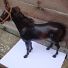 this is a old toy horse  around 12 inch high   action man/action girs l ?