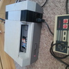 Nintendo NES fully working with 2 controllers and 3 games