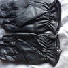 Security sand knuckle leather gloves
