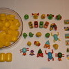 320,000 pieces Kinder facsimile capsules with toys