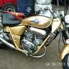 250cc v twin  custom