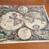 Super quality reproduction vintage map.