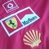Official Ferrari team shirt Spa 1996, Schumacher and Irvine!