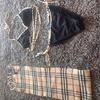 Burberry scarf and bikini