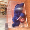 PEANUT BEANIE BABY VERY RARE & COLLECTABLE ROYAL BLUE VERSION