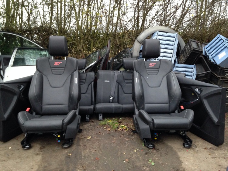 Ford focus leather seats for sale