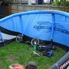 14 meter cabrinha nitro power kite with dirt surfer and more