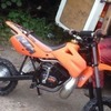 Ktm 50 sx 2000 model works perfect wanting crf50