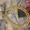 8 1/2 oz massive gold chain/ swap best Landrover defender 90/110