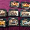 Corgi collectable transport vans x8