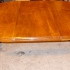 genuine edwardian walnut dining table