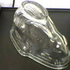Vintage Glass Jelly Mold (Rabbit)