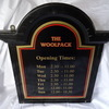 EMMERDALE THE WOOLPACK PUB/BAR OPENING TIMES SIGN REPRODUCTION MANCAVE