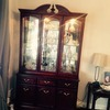 Glass cabinet , hall table , stereo cubard