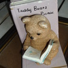 teddy bear book-ends