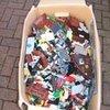 (LARGE) BOX (BUCKET) FULL OF ASSORTED USED LEGO
